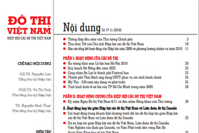 Ấn phẩm số 17, tháng 1/2010