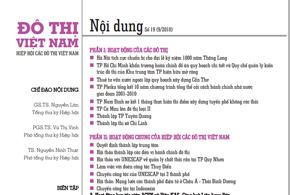 Ấn phẩm số 19, tháng 9/2010