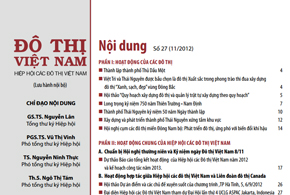 Ấn phẩm số 27, tháng 11/2012