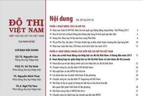 Ấn phẩm số 29, tháng 6/2013