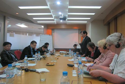 Cuộc họp nhóm trọng điểm các nhà tài trợ