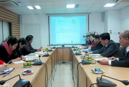 Cuộc họp mạng lưới DELGOSEA Việt Nam