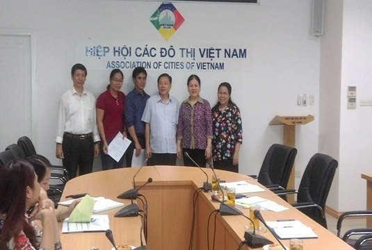 Bổ nhiệm thêm 2 Phó Chánh văn phòng Hiệp hội các đô thị Việt Nam.