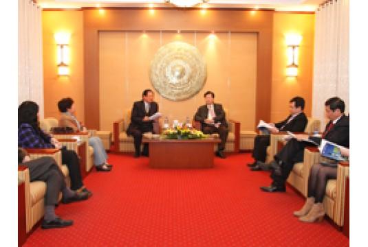 Bộ trưởng Bộ Xây dựng làm việc với Hiệp hội các đô thị Việt Nam