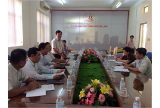Chuyến công tác của ACVN tới TP Cao Lãnh