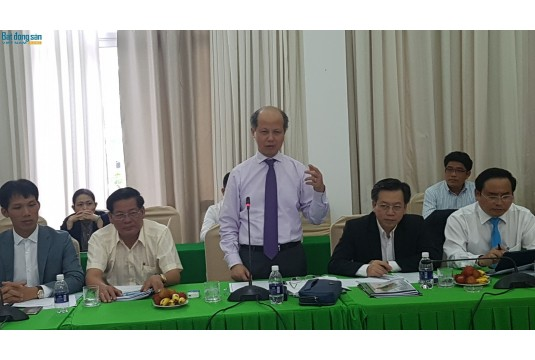 Chủ tịch Hiệp hội các đô thị Việt Nam làm việc với Ban Thư ký
