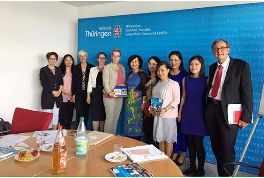 Chuyến công tác học tập, trao đổi kinh nghiệm về quản lý đô thị tại CHLB Đức