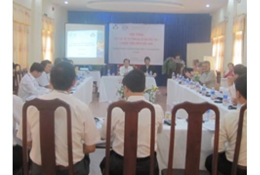 Hội thảo lựa chọn đô thị thực hiện dự án điểm thứ hai – Chương trình Đối tác đô thị Phát triển Kinh tế MPED