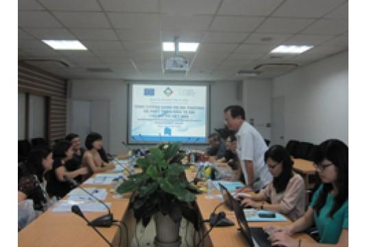 """Hội thảo nội bộ Giới thiệu Dự án """"Tăng cường Quản trị Địa phương để Phát triển Kinh tế tại các Đô thị Việt Nam"""""""