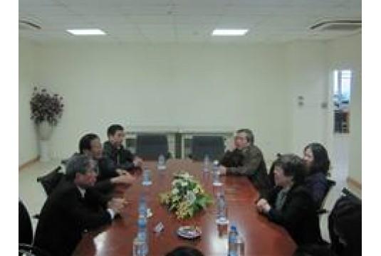 Văn phòng Hiệp hội các đô thị Việt Nam là việc với UBNDTP. Huế