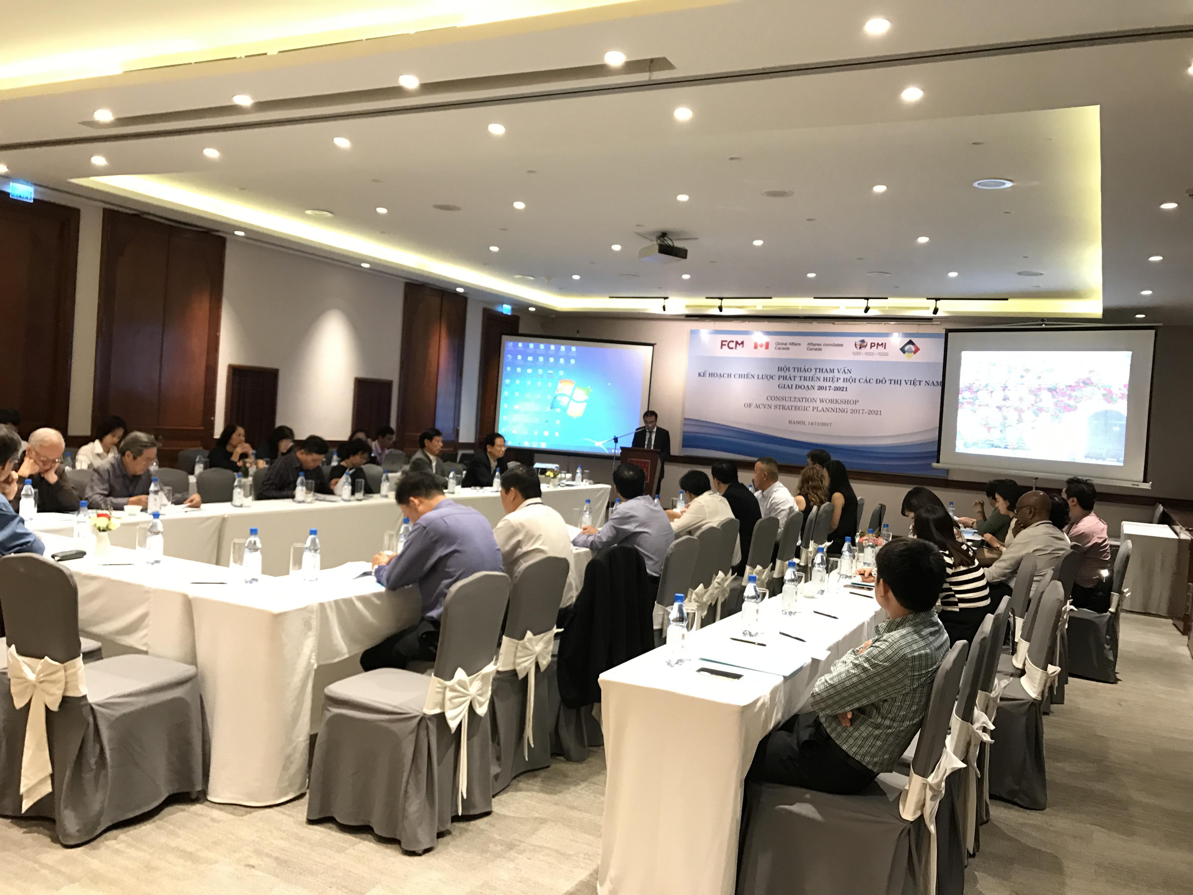 Hội thảo tham vấn Kế hoạch Chiến lược ACVN giai đoạn 2018 - 2021