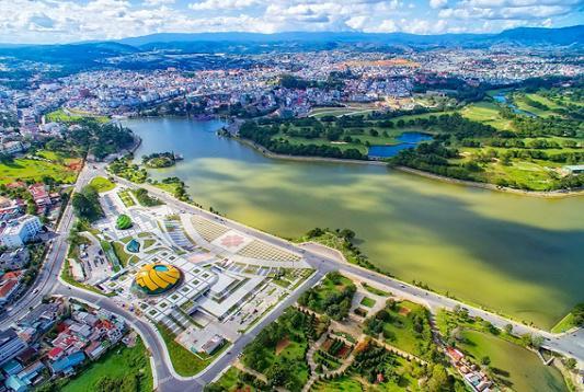Khu Trung tâm triển lãm và hành chính mới TP Đà Lạt, Lâm Đồng